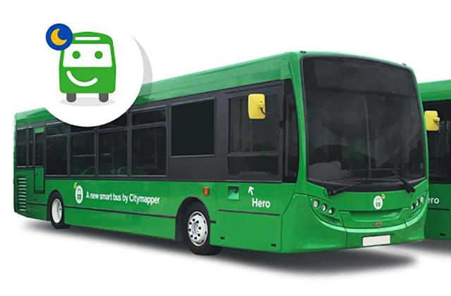 Citymapper to launch a weekend night bus service in London