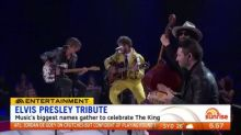 Music greats give Elvis Presley tribute