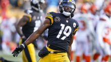 JuJu Smith-Schuster goes undercover as Pittsburgh reporter to prank fans