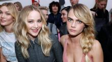Paris Fashion Week: Jennifer Lawrence and Felicity Jones among stars on front row at AW19 shows