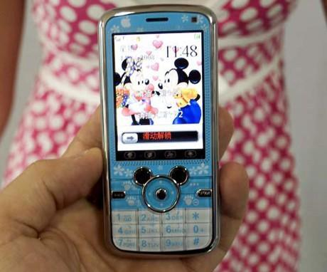 Mickey Mouse phone probably doesn't have Disney / Apple's blessings