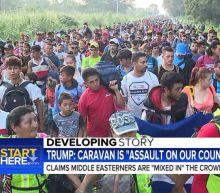 'Start Here' podcast: Trump takes aim at migrant caravan