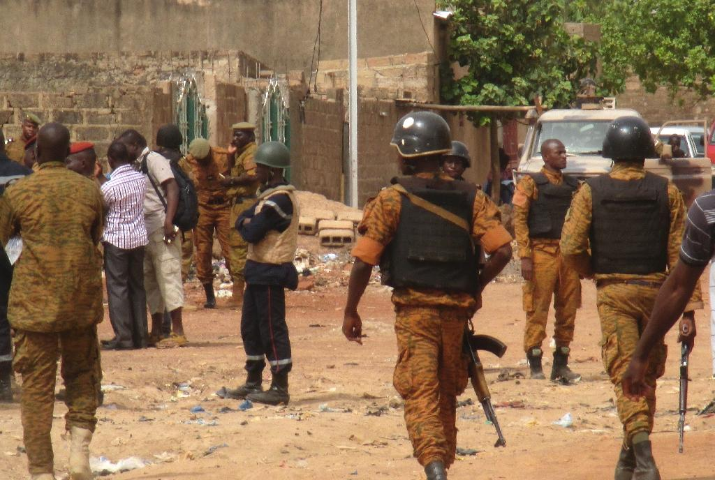 The speed at which jihadist violence has spread in Burkina Faso has taken many by surprise (AFP Photo/STR)