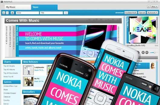 Report: Nokia's Comes With Music not selling very well in the UK