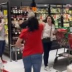 Coronavirus: Shoppers berate woman for not wearing face mask inside store