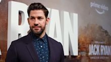 John Krasinski defends playing military, CIA characters amid claims of conservative politics