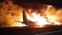 Viele Tote nach Absturz von Militärflugzeug in der Ukraine