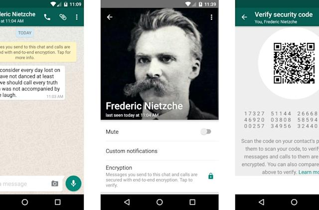 Every message in WhatsApp is completely encrypted