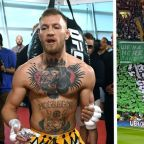 Conor McGregor thanks Celtic's 'die-hard' support for Champions League banner