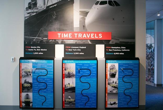 Technology and immigrant tales collide at Ellis Island