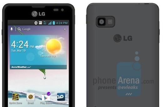 LG Optimus F3 leaks with 4-inch screen and Jelly Bean, allegedly headed to Sprint