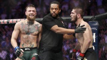Khabib's coach sees McGregor as top threat