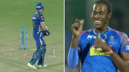 Archer sends down brutal 150km/h yorker on IPL debut