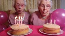 102-jährige Zwillinge verraten ihr Geheimnis für ein langes Leben