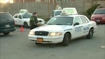 Police hunt suspects in Long Island taxi robberies