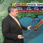 Path of potential tropical storm crosses North Carolina