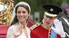 Here's Kate and William's anniversary card