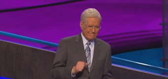 #WeLoveYouAlex trending after Trebek gets choked up