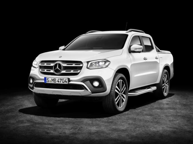 Premium-Pickup: Mercedes-Benz stellt neue X-Klasse vor