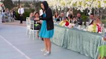 Maid of Honor Toasts Her Sister With a Rap