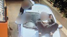 Shocking McDonald's drive-thru stunt lands teen driver $1070 in fines