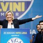 French far-right tops poll, EU vote turns into Le Pen/Macron duel