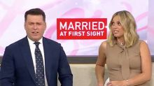 Karl Stefanovic's savage response to new MAFS star live on Today