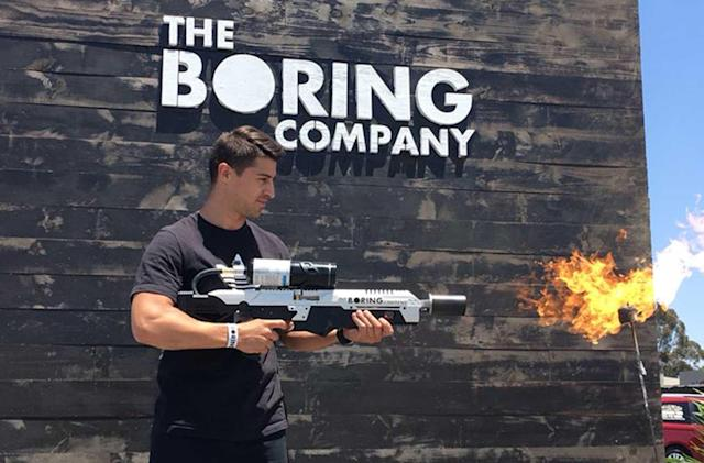 The Boring Company's 'Not a Flamethrower' reaches customers