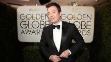 Golden Globe host Jimmy Fallon roasts Donald Trump during award show