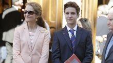 El viaje solidario de la infanta Elena, mientras que su hijo Froilán se va de fiesta