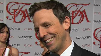 Seth Meyers Ready To Host The 2012 CFDA Fashion Awards