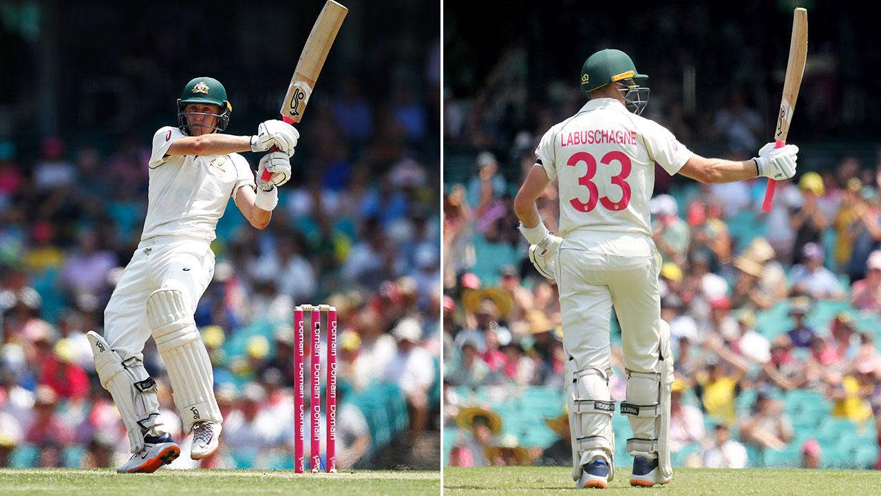 'Indomitable' Marnus Labuschagne claims special piece of history