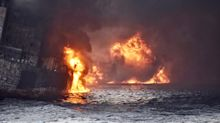 Iranian oil tanker explodes and and sinks off coast of China with no survivors