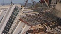 Engineers test cables to remove Costa Concordia