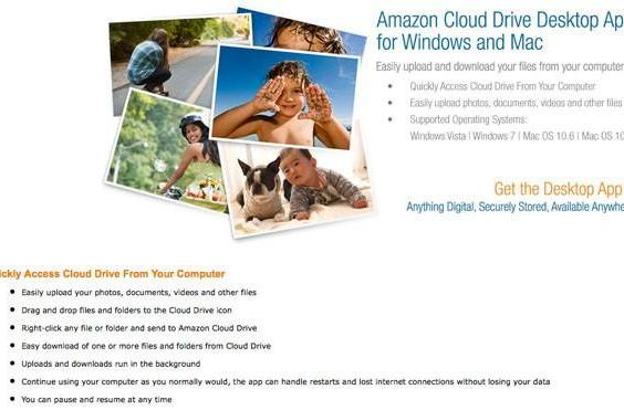 Amazon Cloud Drive and app arrive in UK at last, sans fanfare