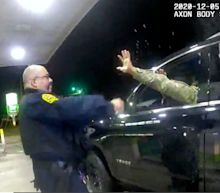 Veterans of color say video of police pepper-spraying a Black Army officer shows that not even a military uniform is protection from police violence