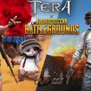 《TERA Online》與《絕地求生》合作,怪戴三級盔、注意從天降補給品