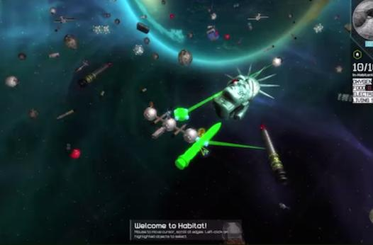 Habitat builds with space debris on PC, Mac, Linux, Xbox One