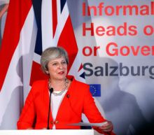 May says Brexit talks have hit impasse, EU must produce alternative plans