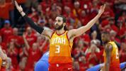 Rubio powers Jazz to emphatic win over OKC