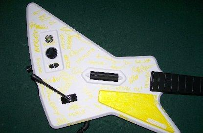GHII guitar gets peed on, Harmonix to the rescue!