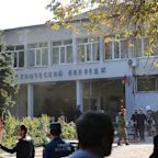 Terrorist gunman storms Crimean college and detonates 'home-made bomb' in cafeteria, killing at least 18