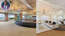 Shaq's Orlando Mansion Is Back on the Market for $16.5 Million After a Few Tweaks to the Interiors