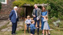 De nouvelles photos de William, Kate et leurs enfants avec le naturaliste Sir David Attenborough