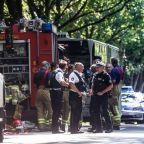 German bus passengers injured in knife attack, suspect in custody