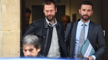 Tom Meighan appears in court
