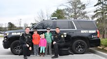 Good News des Tages: Zehnjähriger Krebspatient feiert Geburtstag auf Polizeiwache