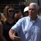 Pence tours Ga. towns hit by Hurricane Michael