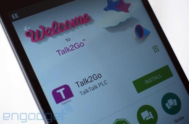 TalkTalk app lets customers use their landline package on a smartphone