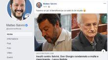 Diffamò Matteo Salvini: Don Giorgio De Capitani condannato. Dovrà pagare 7500 euro di multa